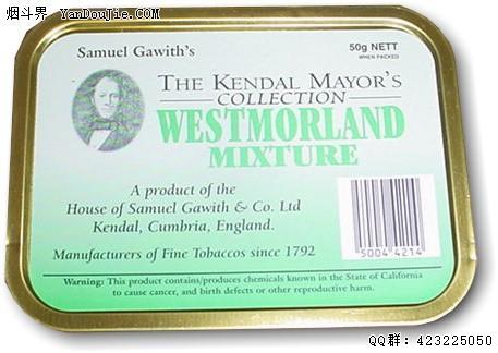 Westmorland Mixture (Kendal Mayor's Collection)