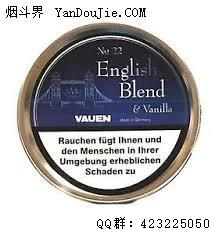 No. 22 English Blend & Vanilla