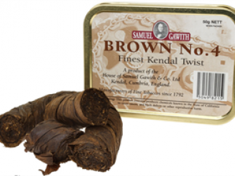 Brown No. 4烟斗丝
