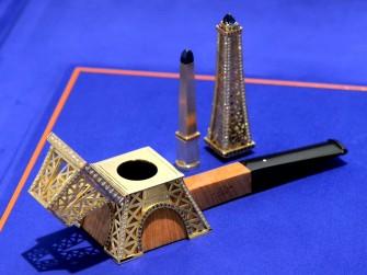 350万美金的全球最贵烟斗:登喜路埃菲尔铁塔烟斗