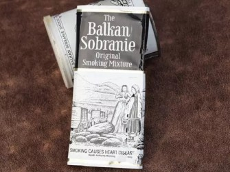 烟斗丝点评90年代袋装巴尔干寿百年Balkan Sobranie Original Mixture