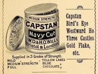 Capstan绞盘烟斗丝的历史概要及版本浅析