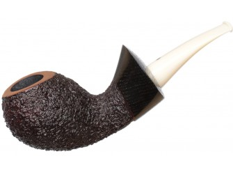 Askwith: Rusticated橡木化石装饰的弯形蛋式