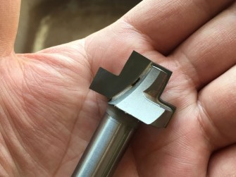 制斗工具:大气室烟斗榫刀
