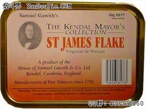 St. James Flake (Kendal Mayor's Collection)
