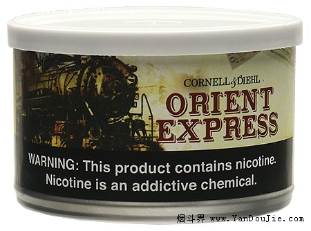 Cornell & Diehl's Orient Express pipe tobacco at Smokingpipes.com