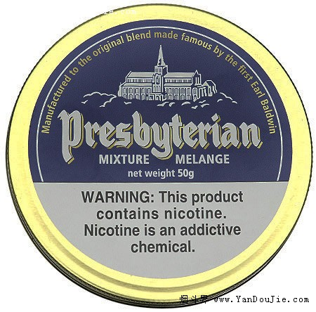 Presbyterian Mixture pipe tobacco at Smokingpipes.com