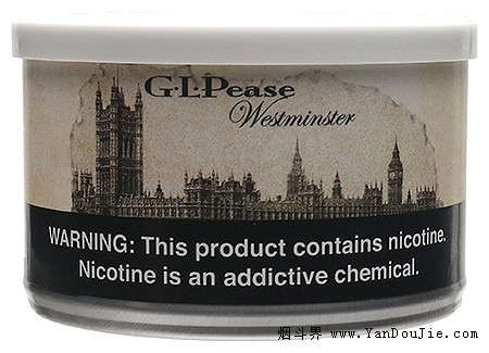 G.L. Pease Westminster pipe tobacco at Smokingpipes.com