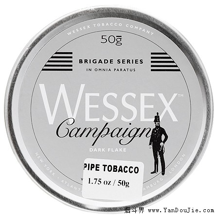 Wessex Brigade: Campaign Dark Flake pipe tobacco at Smokingpipes.com