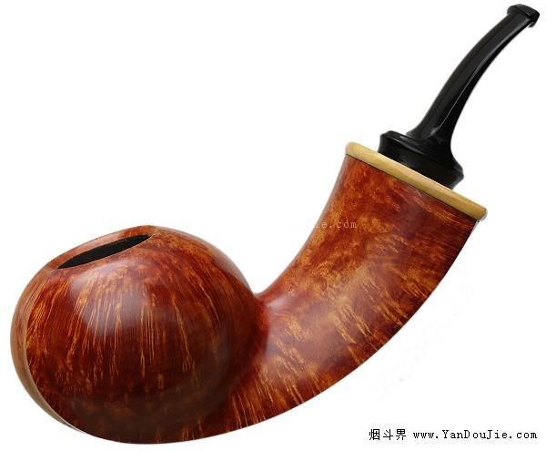 Alex Florov:黄杨装饰光面番茄烟斗图